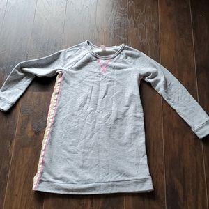 Girls sweatshirt dress